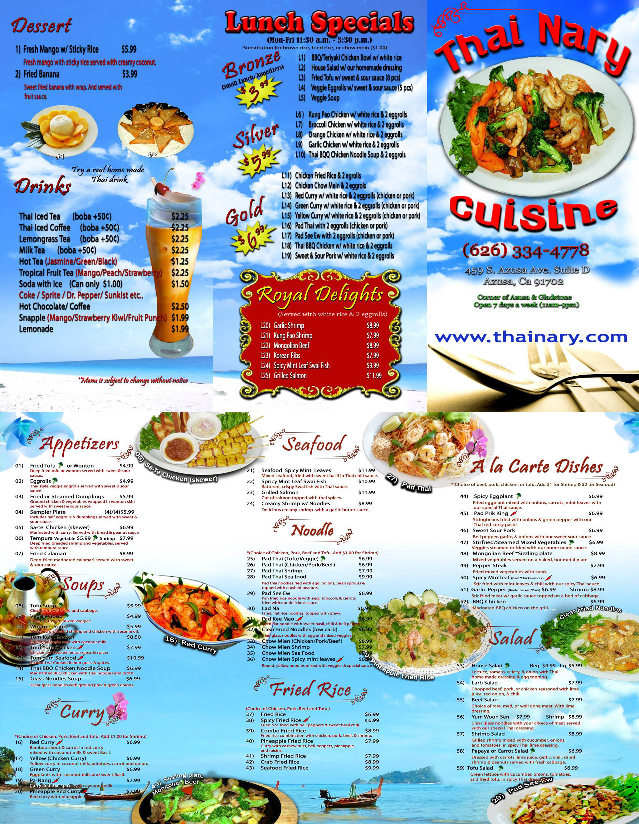 Thai Food Azusa